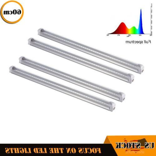 4xfull spectrum grow light t8