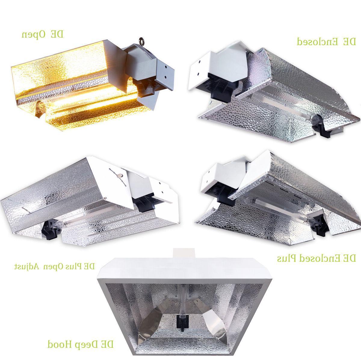 600w 1000w watt double ended hps reflectors