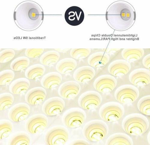 600W Full Spectrum 3500K LED Grow Light for Hydroponic Greenhouse Plants