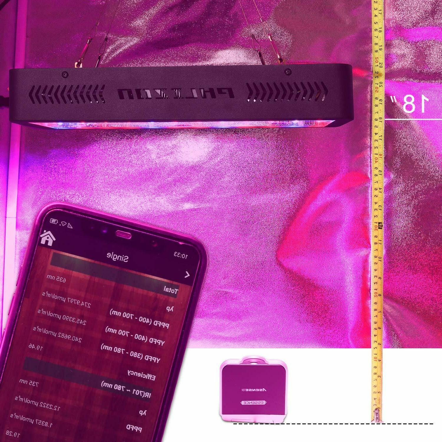 600W Light Thermometer DOUBLE
