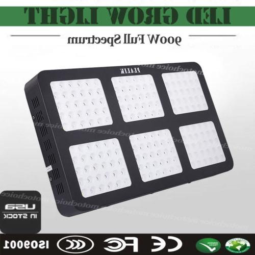 900w led grow light panel full spectrum