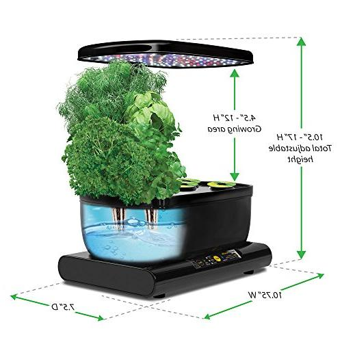 Miracle-Gro AeroGarden Gourmet Herb Seed Pod Kit, Black