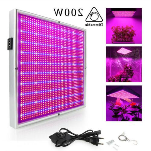 Dimmable 200W LED Full for Plant