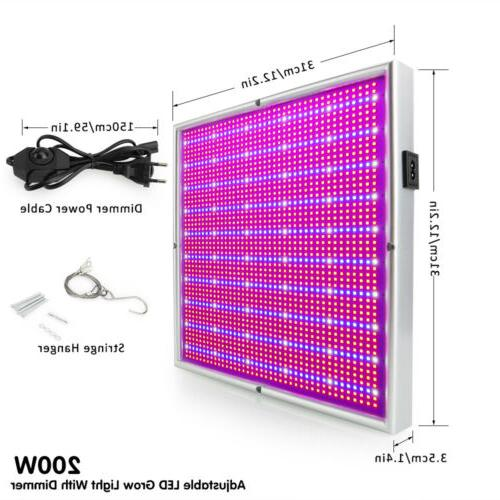 Dimmable LED Grow Light Flower Blooming Full Plant