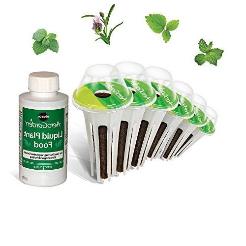aerogarden fresh tea seed pod