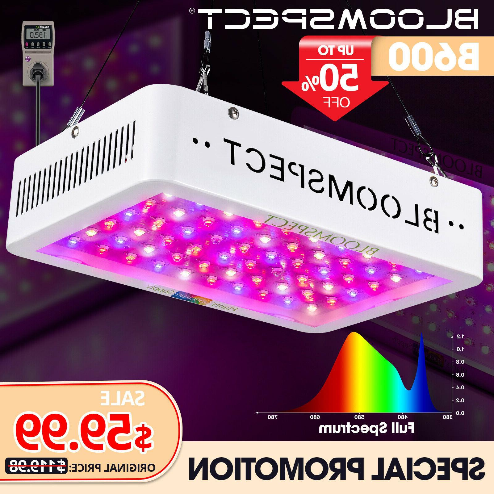 bloomspect grow light panel hydroponic
