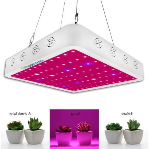 800W Full Spectrum LED Grow Light Panel Lamp Growing Hydropo