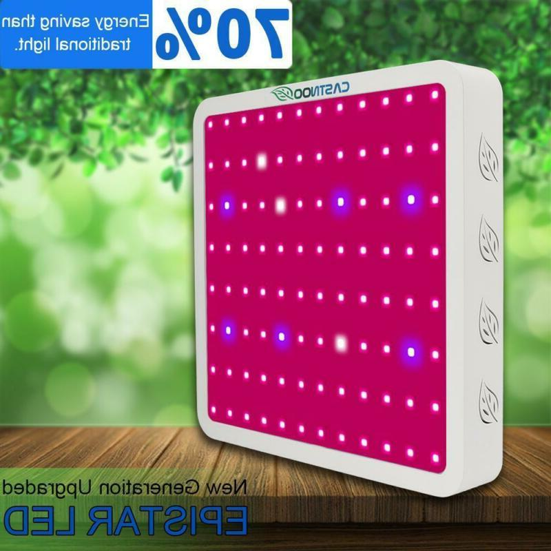 castnoo 800w led grow light panel lamp