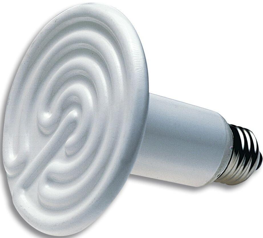 75W 110V CERAMIC HEAT EMITTER BROODER INFRARED LAMP BULB REP