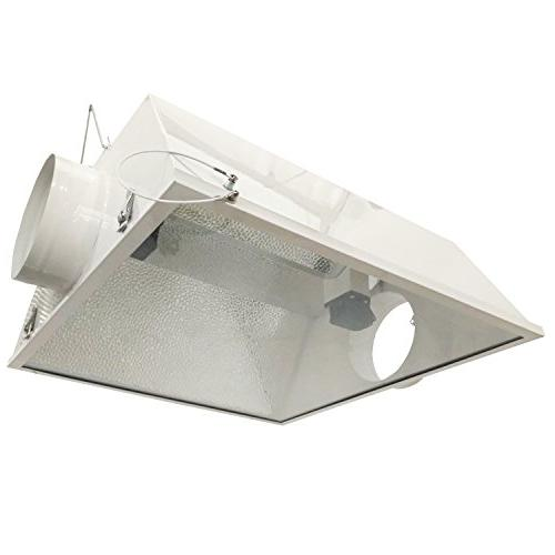 Hydro 630-Watt DE CMH Grow Light with Ended Air Reflector