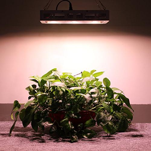 VIHIMAI 1500w Grow Light UV IR Indoor Plant Greenhouse 300W 5pcs