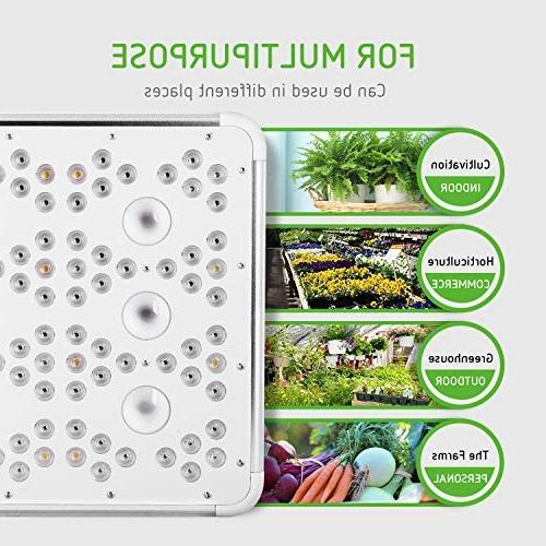 VIVOSUN 1200W Grow Full for Indoor Plant Growing with Bloom Switches