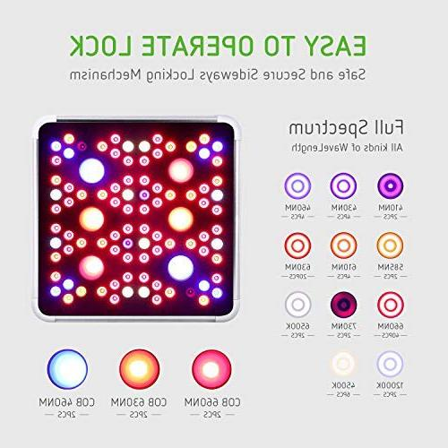 VIVOSUN COB Led Grow Light for Indoor with and Bloom Switches