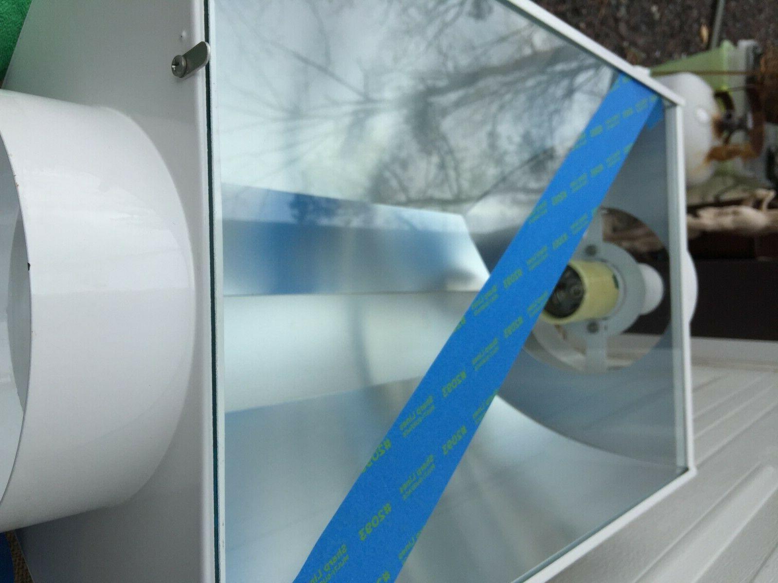Hydrofarm DA Luminaire DAUN Air Cooled Hood 1000W Lite
