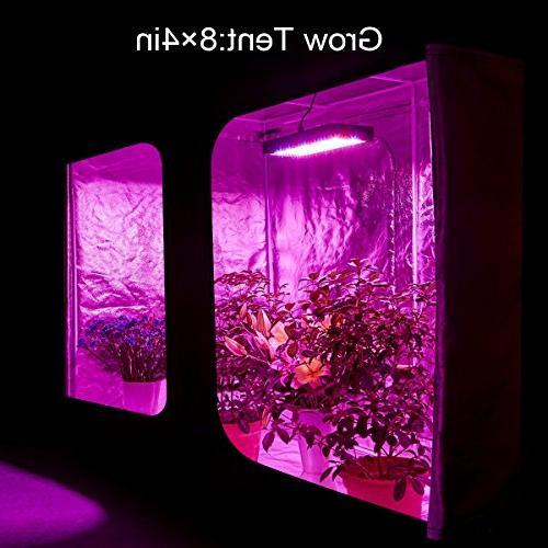BESTVA DC LED Grow Spectrum Greenhouse Hydroponic Veg