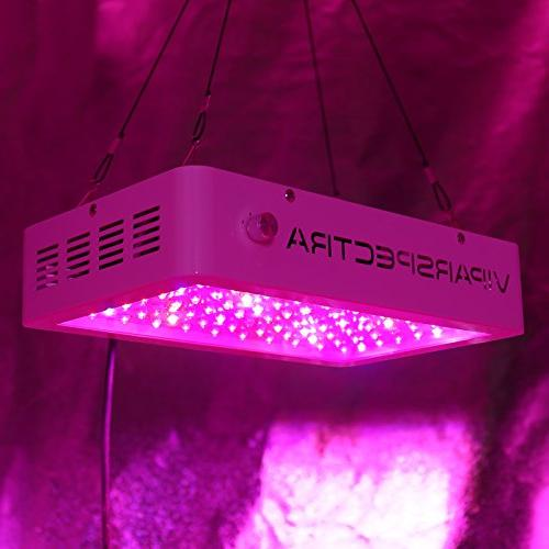 VIPARSPECTRA Dimmable DS350 LED Light 12-Band Full for Indoor Plants and Flower