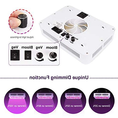 600W LED Light, Full Grow Light Two and for Plants and Flower