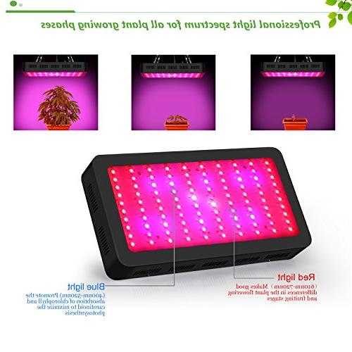 Dimmable Light, 300W Growing for Indoor Plants Flower by