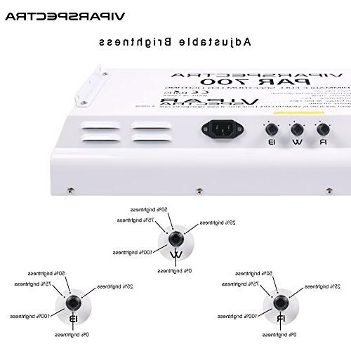 VIPARSPECTRA Dimmable Series 700W Grow - 3 Dimmers Full for Indoor Plants Veg/Bloom