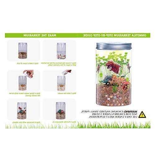 Onnetila in Light-up Terrarium Kit Kids Grow and Glow for