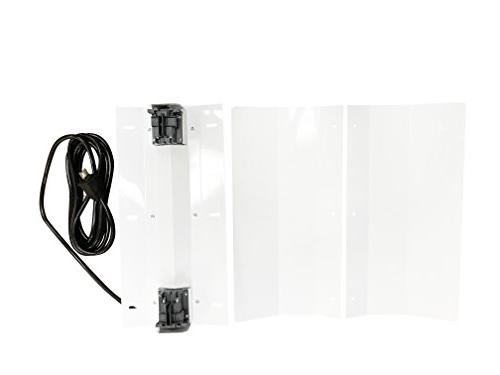 Hydroplanet™ Double 1000W Reflector With Dimmable HPS Plant Grow System