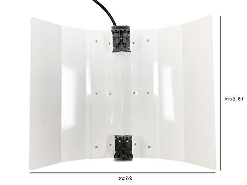 Hydroplanet™ Ended Adjustable Set Hydroponic Grow Lights Kit DE With Dimmable Digital HPS LAMPS Horticulture