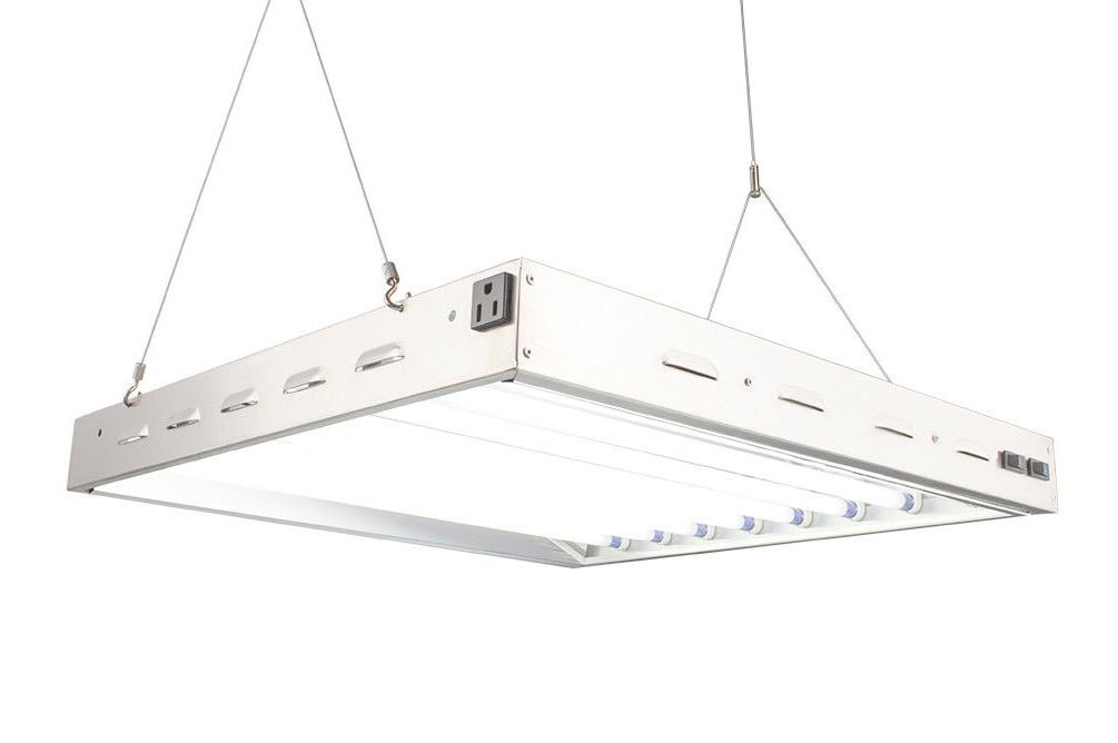 DUROLUX DL8028ST T5 HO STEEL INDOOR GROW LIGHT 2 FT 8 BULBS