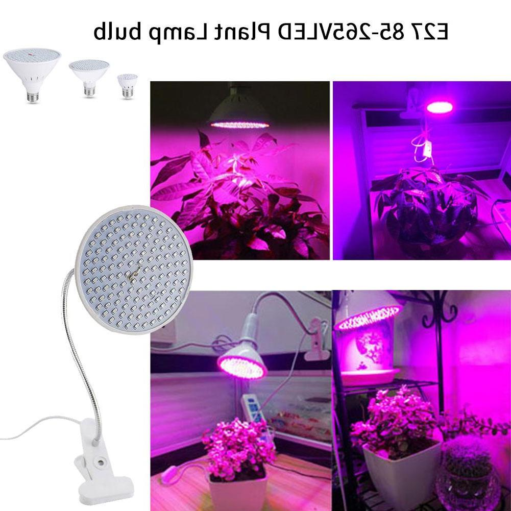 E27 LED Lamp Growth For Greenhouse Growbox Workshop Faster