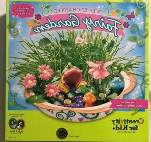 enchanted fairy garden craft kit fairy crafts