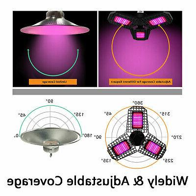 Full Spectrum 144LED Grow Light Plant Lamp for Indoor