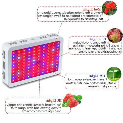 Full Spectrum Light 600W LED Grow Lamp