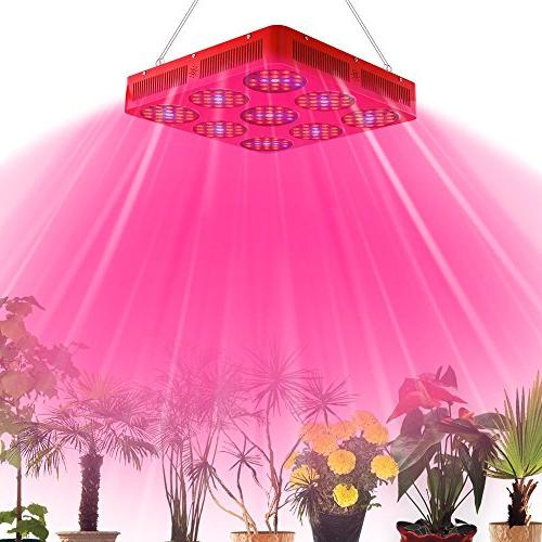 Goldenring 9 1100w LED Grow Light Full 380-730nm Armed with Integrated Power Plant Growing Lamp