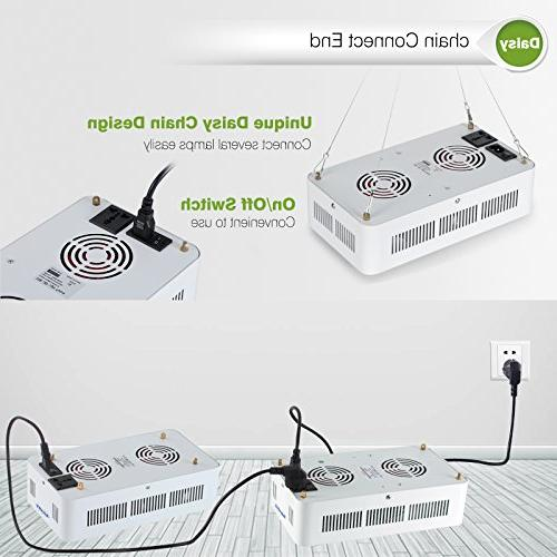 Roleadro Led Grow Light Plant On/Off and Chain Veg and