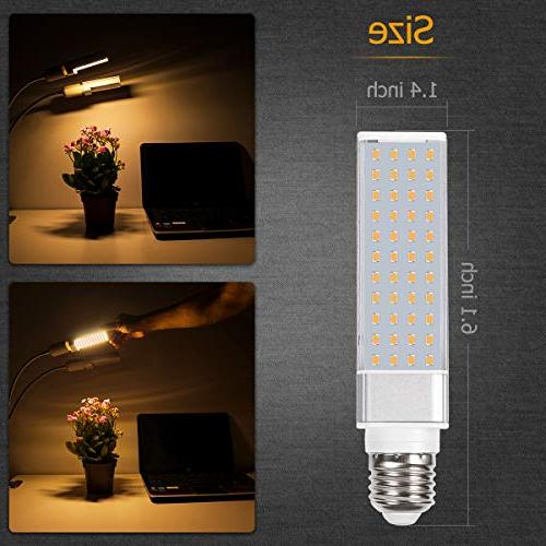 Bozily Led Light Bulb, Sunlike Spectrum for Plants for Professional for Growing Blooming Fruiting
