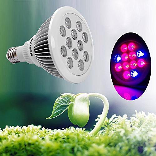 UNIFUN LED Grow E27 Bulb Light Plant Lamp Garden Greenhouse