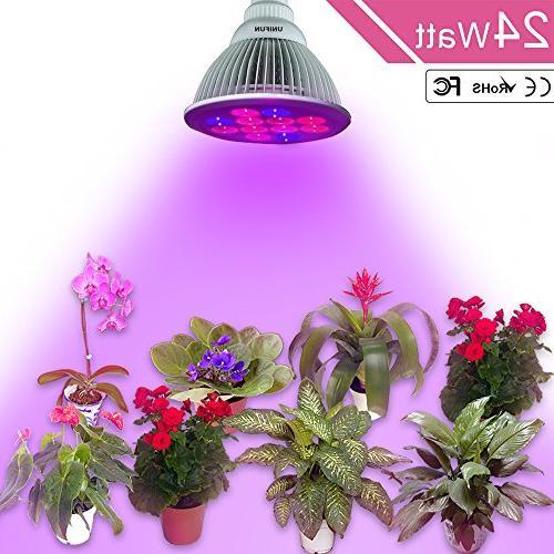 UNIFUN E27 Greenhouse Light Plant Grow Lamp for