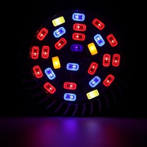 4Pcs LED Light E27 for Plant Full Spectrum
