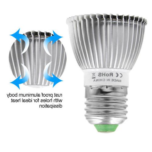 4Pcs 28W LED Light E27 for Garden Full