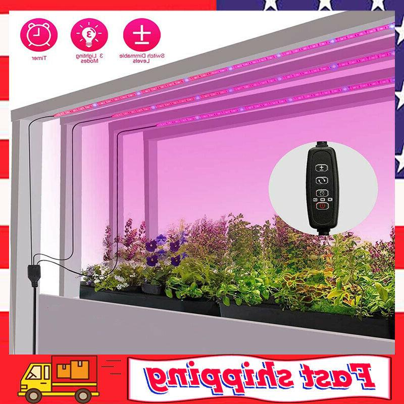 grow light plant adjustable 3pcs timing grow