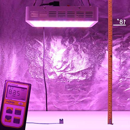 BLOOMSPECT LED Light: Full Indoor Greenhouse Hydroponic Veg and