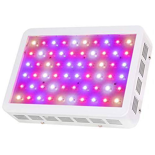 BLOOMSPECT 300W Grow Light: Indoor Hydroponic Plants