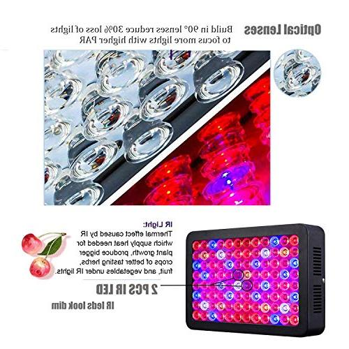 1000W LED Full for Plants SUNRAISE Grow Lamp with Chain Triple-Chips LED