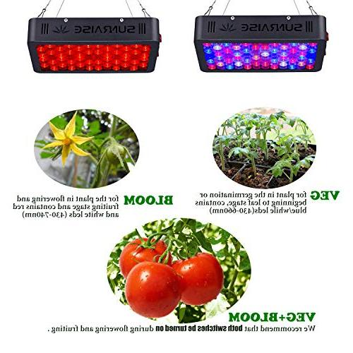 1000W Full Plants SUNRAISE with Daisy Chain Triple-Chips LED