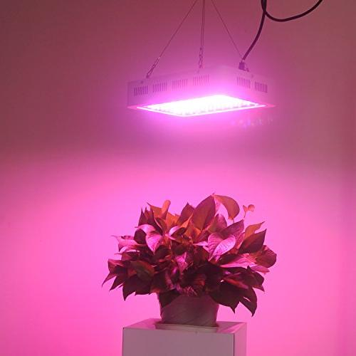 LED Light 1200W with Adjustable Hanger Full Indoor Lights Plants Veg&Flower in Greenhouse Tent