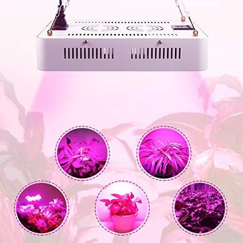 1000W Light - LED Grow Light for Plants Rope, UV &IR for Hydroponic Veg Flower-