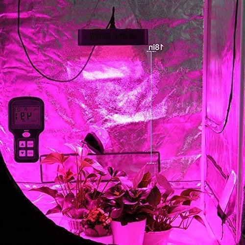 MAYGROW Reflector-Series 600W Plant Grow Adjustable Double Light for Indoor Plants Veg and Flower
