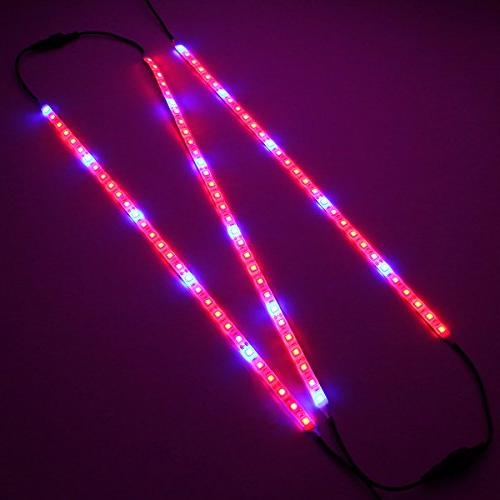 LED Light, SOLMORE 3Pcs 1.6ft/Strip Plant for Grow Lamp Flexible Plant Grow Light Indoor Plant, Hydroponic