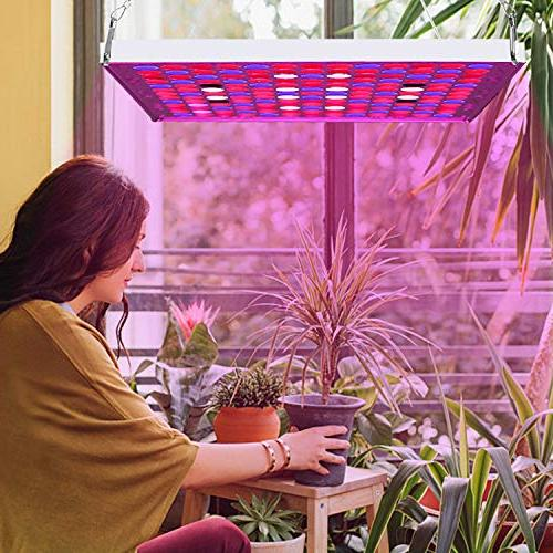 Led Grow Lights Full Light Lamp IR Bulbs Kit Hydroponic Plants Harvest