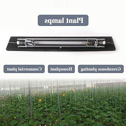 1000 Light Bulb 2000K 155000Lumens Double-Ended HID Grow Bulb Lamp Indoor Plants,High PAR Spectrum on The Hydroponics
