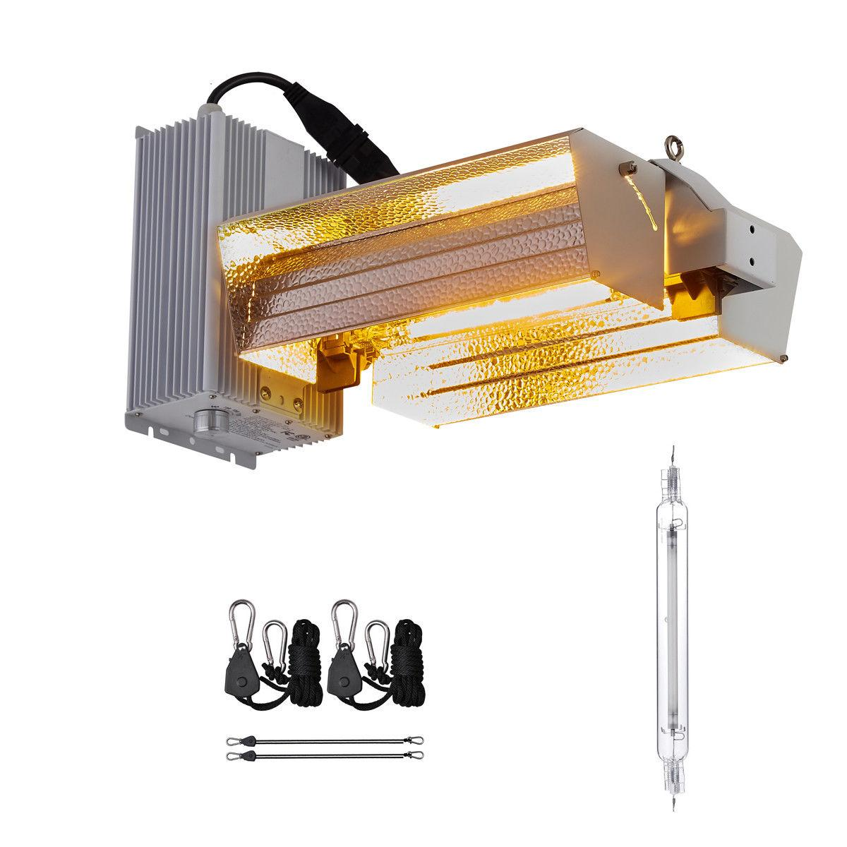 Hydroponic 1000W Double Ended HPS Light Fixture Grow